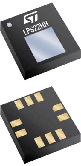 Высокоточный датчик абсолютного давления LPS22HH