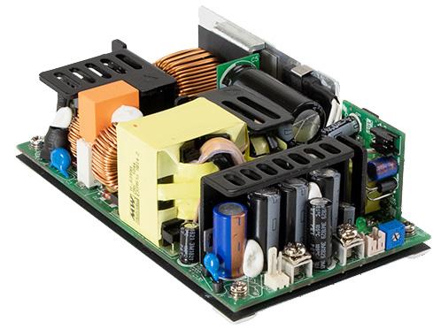 Блоки питания открытого типа EPP-500 для индустриальных применений от MEAN WELL