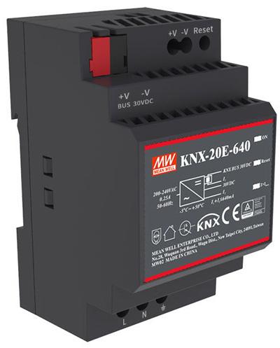 KNX-20E-640 — источник питания для шины KNX от Mean Well