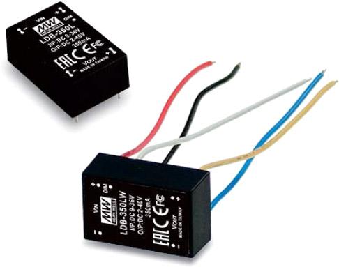 Серия блоков питания LDB-L – DC/DC преобразователи для светодиодных приложений отMEANWELL