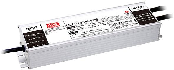Рис.1 Блоки питания MEANWELL для светодиодных применений