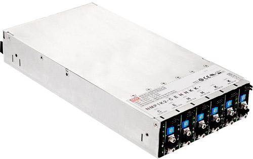 Шасси NMP1K2 с установленными модулями