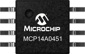 MCP14A0451/2 силовые MOSFET драйверы от Microchip