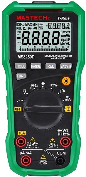 Мультиметр MS8250D - прибор c удивительными способностями