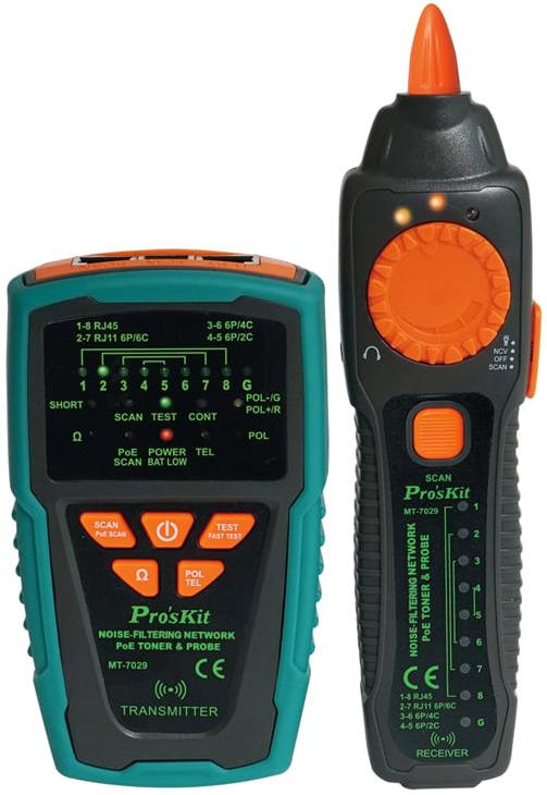 MT-7029 – тестер телекоммуникационных сетей и линий передачи данных