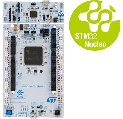 NUCLEO-L4R5ZI отладочная плата на базе микроконтроллера STM32L4R5ZI
