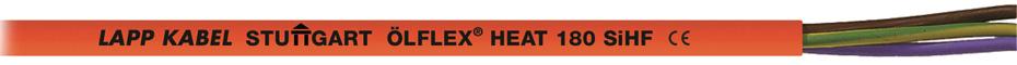 Силовой кабель ÖLFLEX®HEAT 180 SiHF с изоляцией из силикона до +180°C