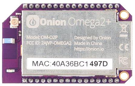 Omega2+ cамый маленький Linux одноплатный компьютер с Wi-Fi для разработки IoT приложений