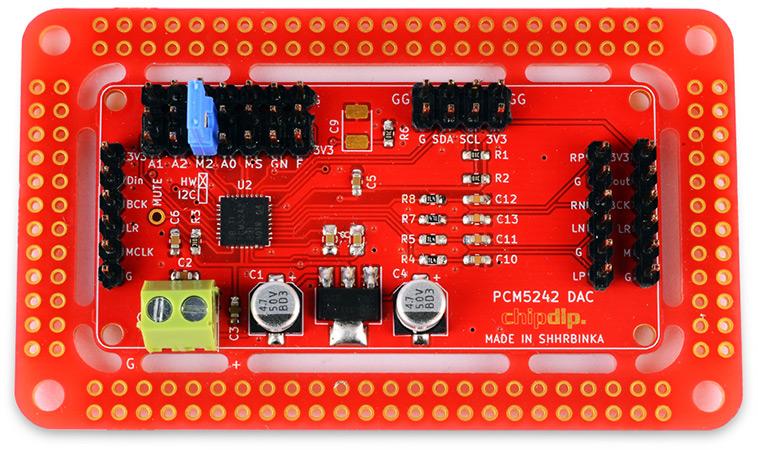 Выбираем лучшее! PCM5242 audio DAC с miniDSP. Новинки собственного производства