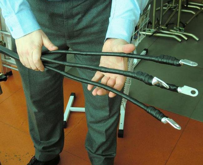 Оконцевание силового кабеля при помощи профессиональных электроизоляционных лент 3М