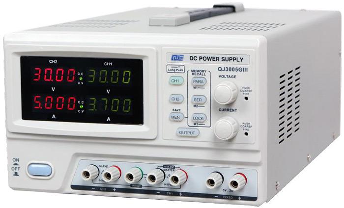 QJ3005G III - программируемый источник питания