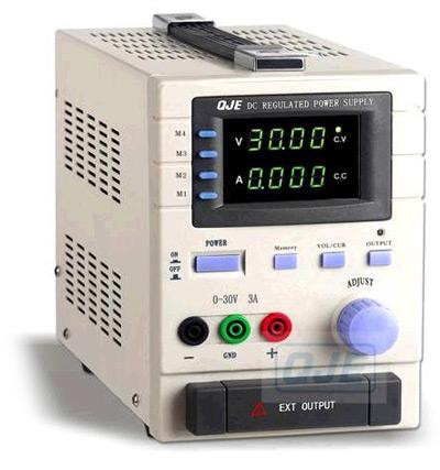 Программируемые источники питания QJE серии QJ30xxP: QJ3003P, QJ3005P