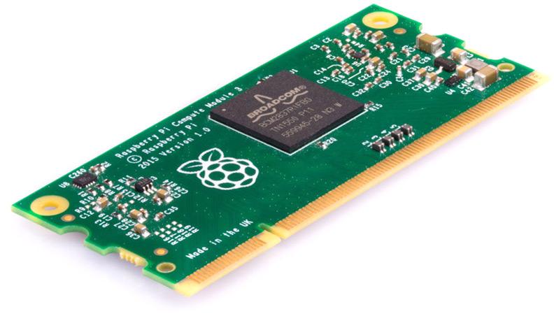 Вычислительный модуль Raspberry Pi Compute Module 3