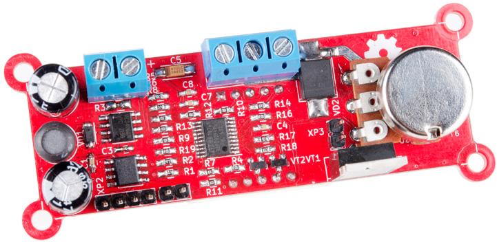 Микроконтроллерный ШИМ регулятор напряжения RDC2-0024