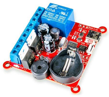 Универсальный термостат, таймер, планировщик событий RDC2-0025а