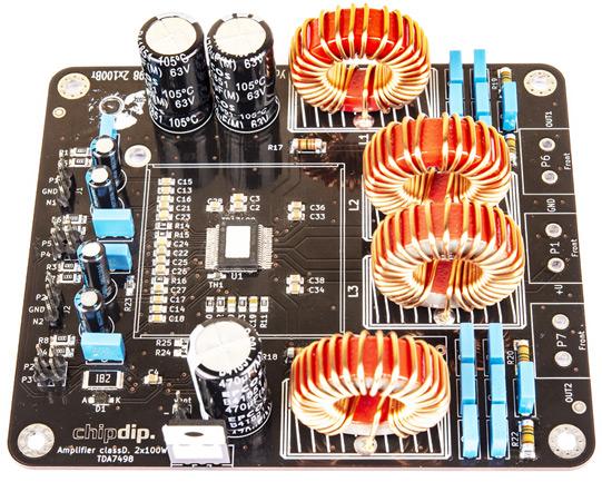 RDC2-0049 - конструктор усилитель мощности 2x100Вт классаD