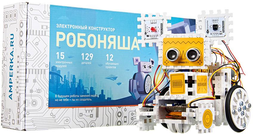 Робоняша - конструктор для сборки мобильного робота на основе Iskra JS