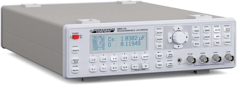 LCR-метр Rohde & Schwarz HM8118 (измеритель иммитанса)
