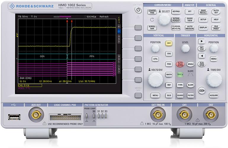 Осциллограф HMO1052 Rohde & Schwarz по специальной низкой цене