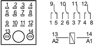 Схема подключения RP-407ALTU