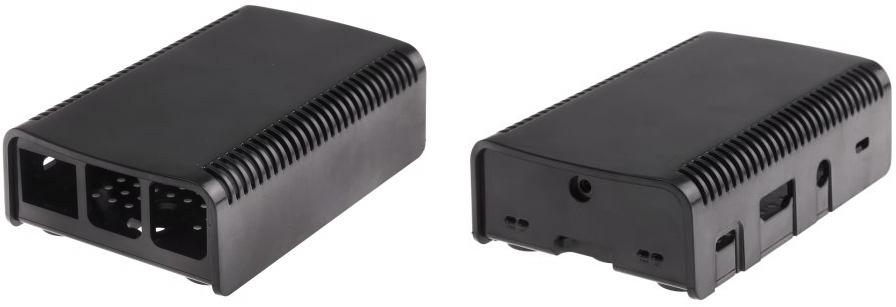 Raspberry Pi Case [Black] (ASM-1900040-21)