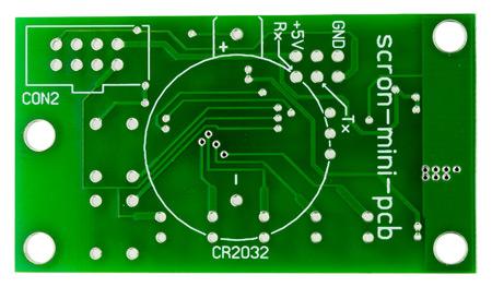 Контроллер таймера - автономного планировщика задач Scron-mini-pcb