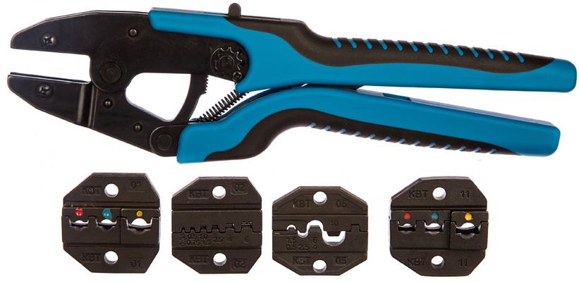 Выбор кримпера для обжатия кабельных наконечников