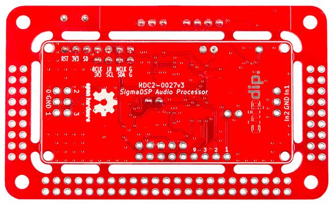 Финальные изменения в модуле цифровой обработки звука на SigmaDSP ADAU1701. RDC2-0027 версия3