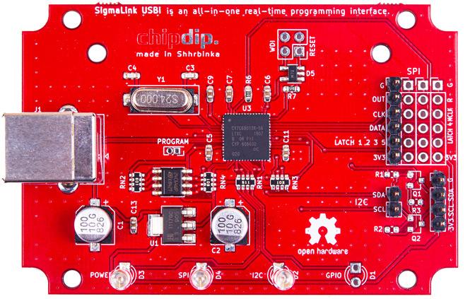 SigmaLink-USBi, программатор для SigmaStudio. Новинки собственного производства