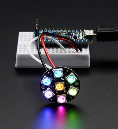 Миниатюрный светодиод с пиксельной адресацией SK6805 2427