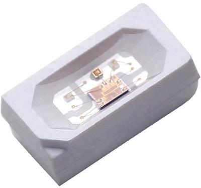 Светодиод с пиксельной адресацией бокового свечения