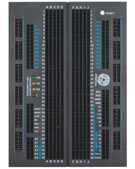STEMTera Arduino Breadboard [black]