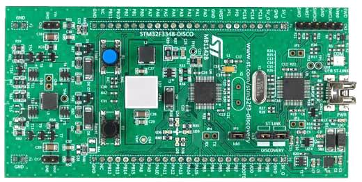 STM32F3348-DISCO отладочная плата на базе MCU STM32F334C8T6 (ARM Cortex-M4)