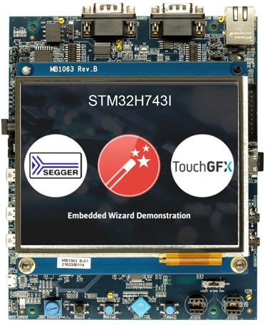 STM32H743I-EVAL Платформа разработки для оценки возможностей микроконтроллера STM32H743XI