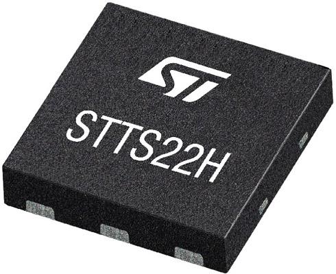 Миниатюрный датчик температуры STTS22H