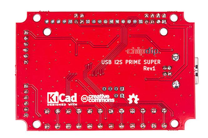USB I2S преобразователь 32bit/96kHz, SUPER PRIME chipdip. Новинки собственного производства