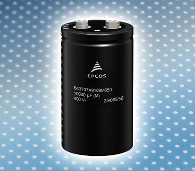 Алюминиевые электролитические конденсаторы с винтовыми выводами от TDK