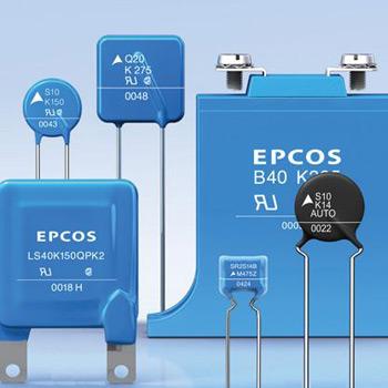 Повышение рабочей температуры монолитных дисковых варисторов TDK-EPCOS до 105°C