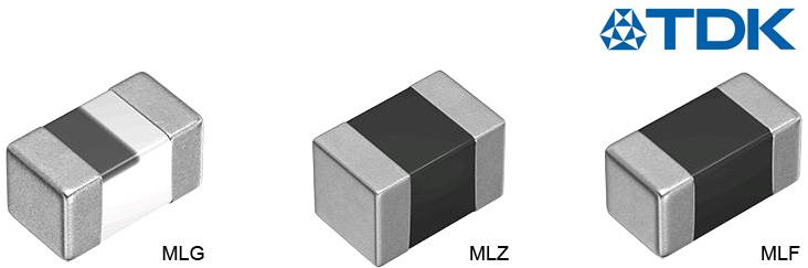 Индуктивности для поверхностного монтажа от TDK