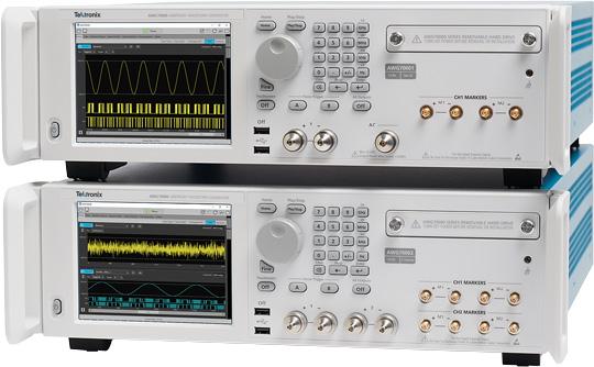 AWG70000B – новая серия генераторов сигналов произвольной формы компании Tektronix