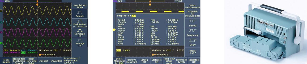 Цифровой люминофорный осциллограф Tektronix TDS3014C