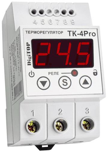 Многофункциональный терморегулятор ТК-4Pro - пять в одном