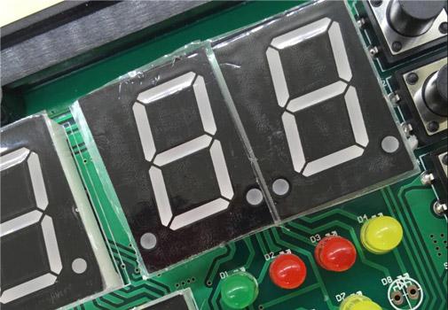 Сегментные индикаторы TOS-F210 для SMT монтажа на печатную плату