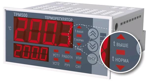 Экономичные одноканальные терморегуляторы серии ТРМ500