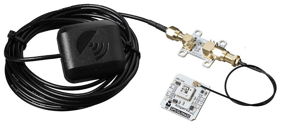 Приёмник сигналов GPS/GLONASS с выносной антенной