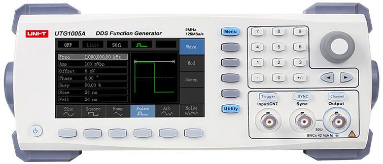 Ожидаемая новинка - генератор сигналов Uni-T UTG1005A