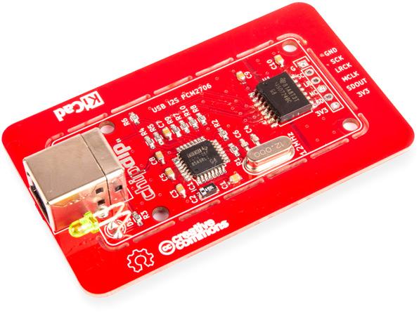 USB I2S преобразователь 16bit/48kHz, PCM2706. Новинки собственного производства
