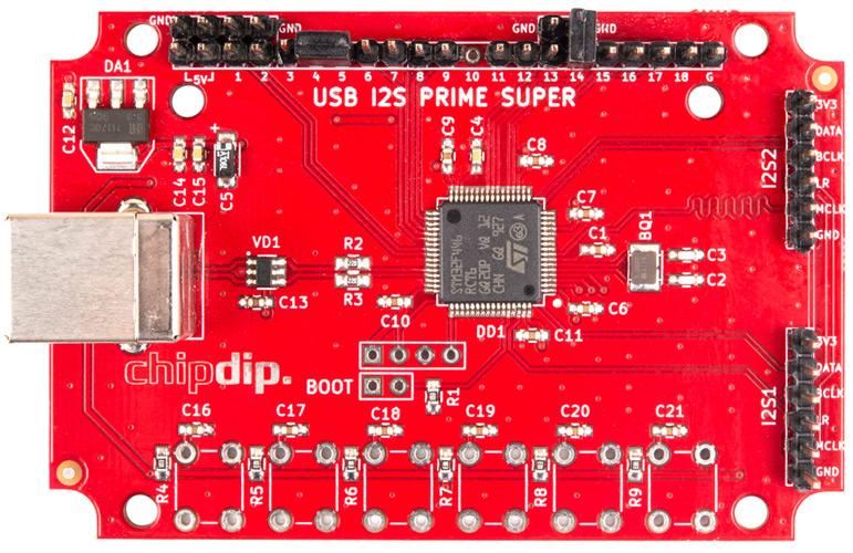 USB транспорт SUPER PRIME. Включена поддержка объемного звука7.1