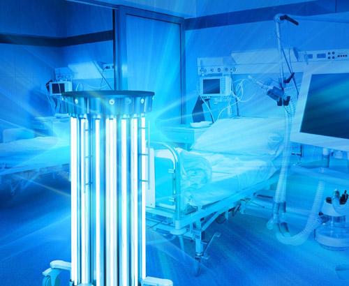 Ультрафиолетовый светодиод для стерилизации TO-3535BC-UVC265-30-6V-E