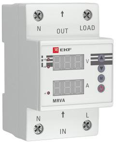 Реле напряжения и тока с дисплеем от компании EKF